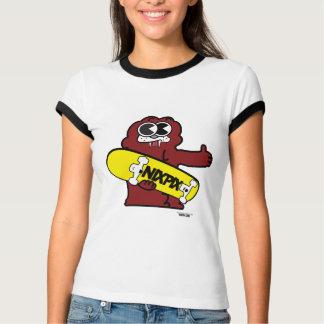 Fang with Nixpix Skateboard Logo T-Shirt