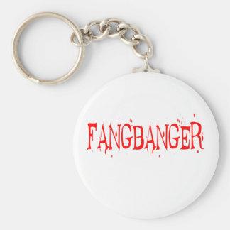 FANGBANGER BASIC ROUND BUTTON KEYCHAIN