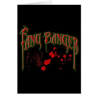 Fangbanger Greeting Card