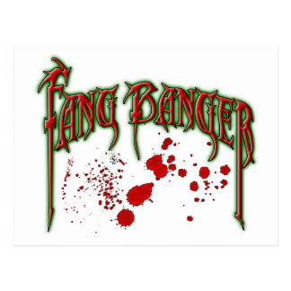 Fangbanger Post Cards