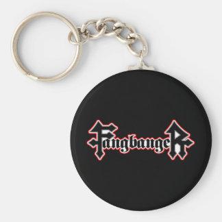 Fangbanger Vampire Halloween Keychain