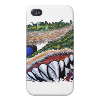 Fanged Cyclops iPhone 4/4S Cover