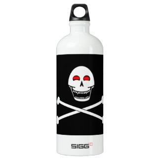 Fanged Jolly Roger Flag SIGG Traveler 1.0L Water Bottle