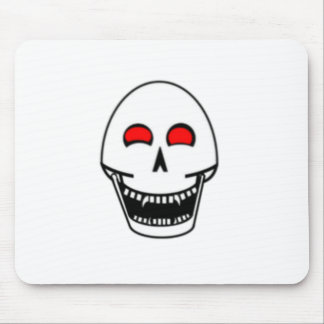 Fanged Skull Mouse Pad