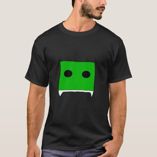 fanged square green T-Shirt