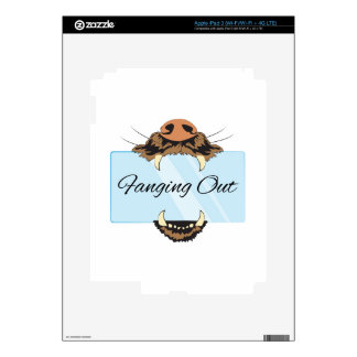 Fanging Out iPad 3 Skin