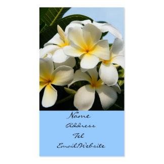 Fangipani Bliss Business Card
