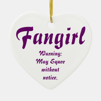 Fangirl/Fanfic Adorno Navideño De Cerámica En Forma De Corazón
