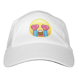 Fangirling Excited Crying Screaming Emoji Hat