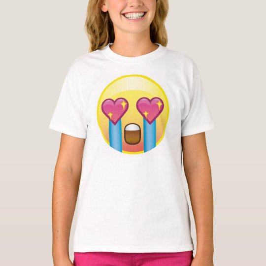 Fangirling Excited Crying Screaming Emoji Shirt | Zazzle.com