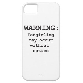 Fangirling iPhone 5 Case-Mate Protectores