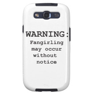 Fangirling Galaxy S3 Cobertura
