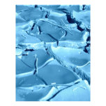 fango azul plantilla de membrete