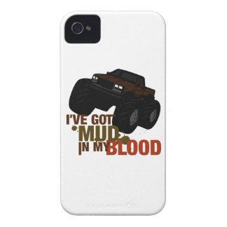 Fango en mi sangre Case-Mate iPhone 4 protectores