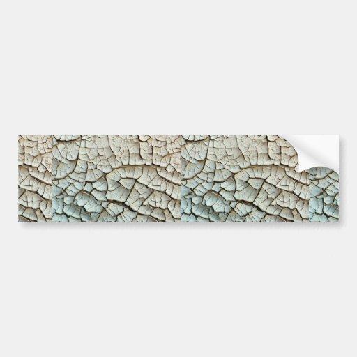 Fango seco, foto de Arizona Etiqueta De Parachoque