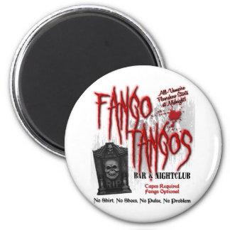 Fango Tangos Vampire Nightclub 2 Inch Round Magnet
