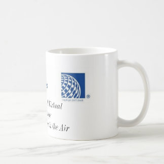 Fango virtual continental de las vías aéreas taza de café