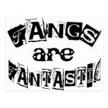 Fangs Are Fantastic Post Card