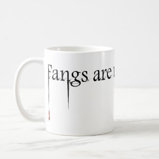 Fangs are Underrated Classic White Coffee Mug