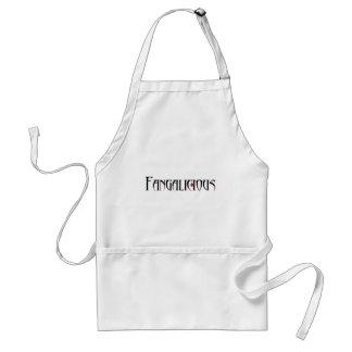 Fangs oh fangs! adult apron