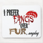 Fangs over Fur Mouse Pads