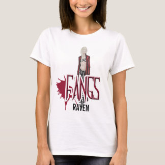 FANGS Raven Character Baby Doll Shirt Large