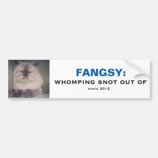 Fangsy Bumper Sticker