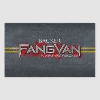 "FangVan ""Backer"" Official Stickers"