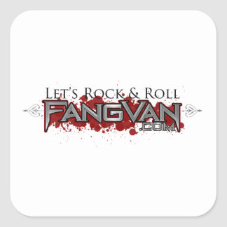"""FangVan """"Let's Rock and Roll"""" Official Sticker"""