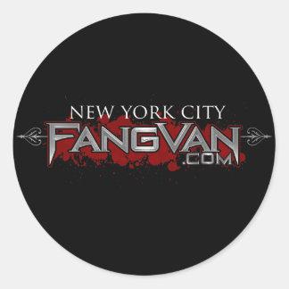 "FangVan ""New York City"" Official Round Sticker"