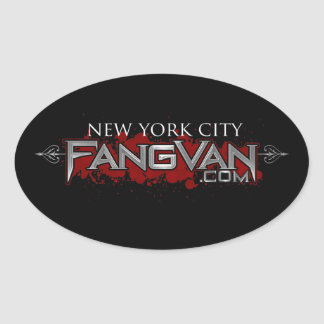 """FangVan """"New York"""" Official Oval Stickers"""
