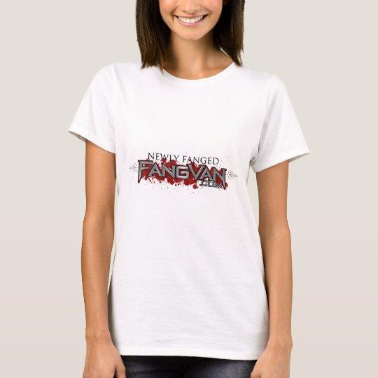 """FangVan """"Newly Fanged"""" Official T-Shirt"""
