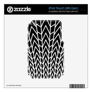 Fanned Tail iPod Touch 4G Skins