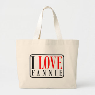 Fannie, Alabama Canvas Bag