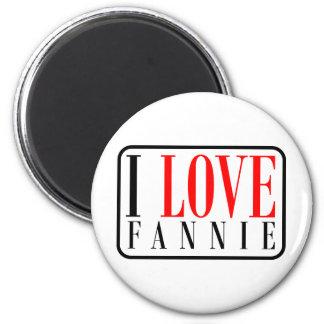 Fannie, Alabama Refrigerator Magnet