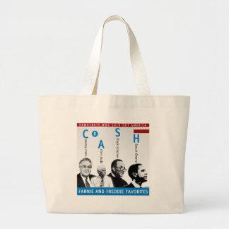 Fannie And Freddie Tote Bags