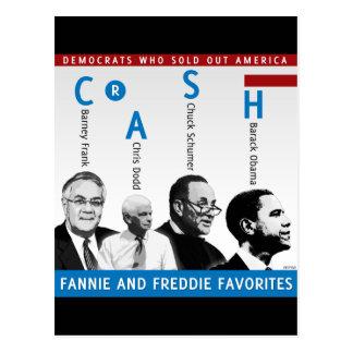 Fannie And Freddie Post Cards
