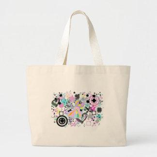 Fannie In Grunge Canvas Bag