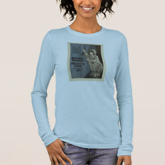 Fannie Ward 1919 silent movie exhibitor ad Long Sleeve T-Shirt