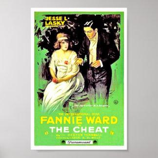 Fannie Ward The Cheat Movie poster