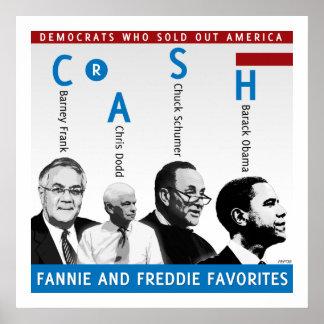 Fannie y Freddie Poster