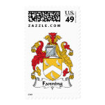 Fanning Family Crest Stamp