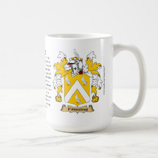 Fanning, the Origin, the Meaning and the Crest Coffee Mugs