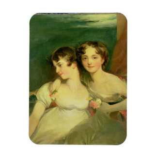 Fanny and Jane Hamond Magnet