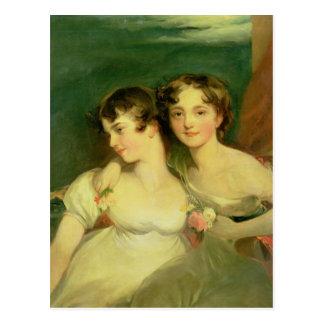Fanny and Jane Hamond Postcard