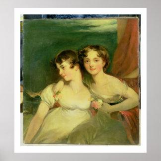 Fanny and Jane Hamond Print