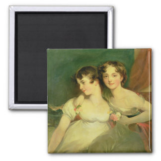Fanny and Jane Hamond Refrigerator Magnet