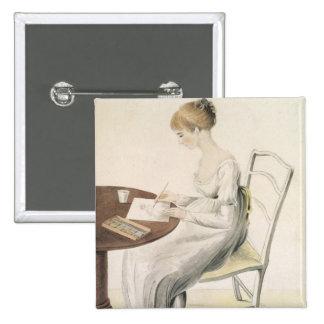 Fanny Austen-Knight Pinback Button