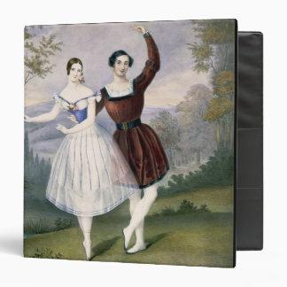 Fanny Cerrito (1817-1909) and Sigr. Guerra, in the Vinyl Binder