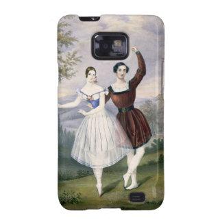 Fanny Cerrito (1817-1909) and Sigr. Guerra, in the Galaxy S2 Cases